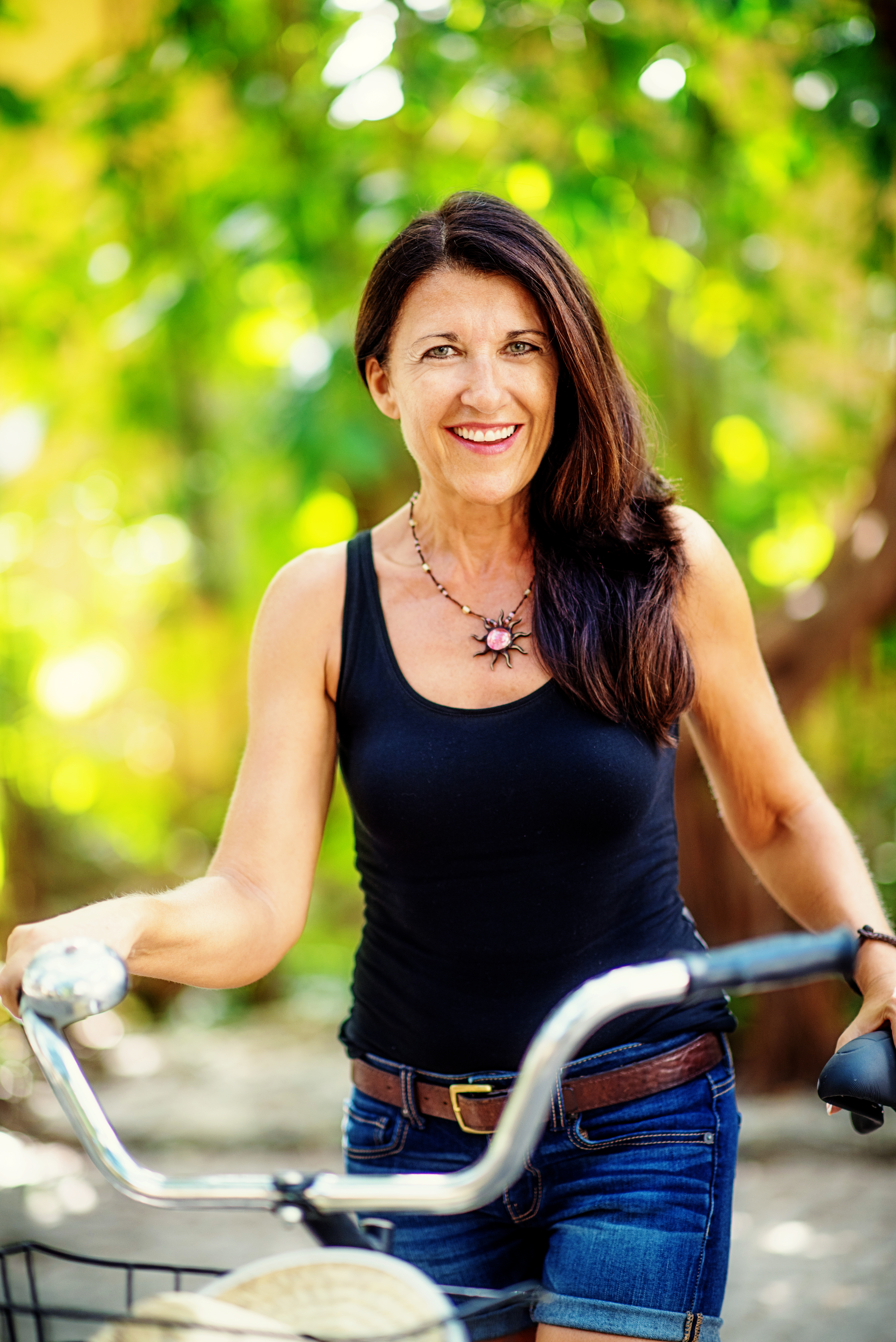 Brenda with bike 2